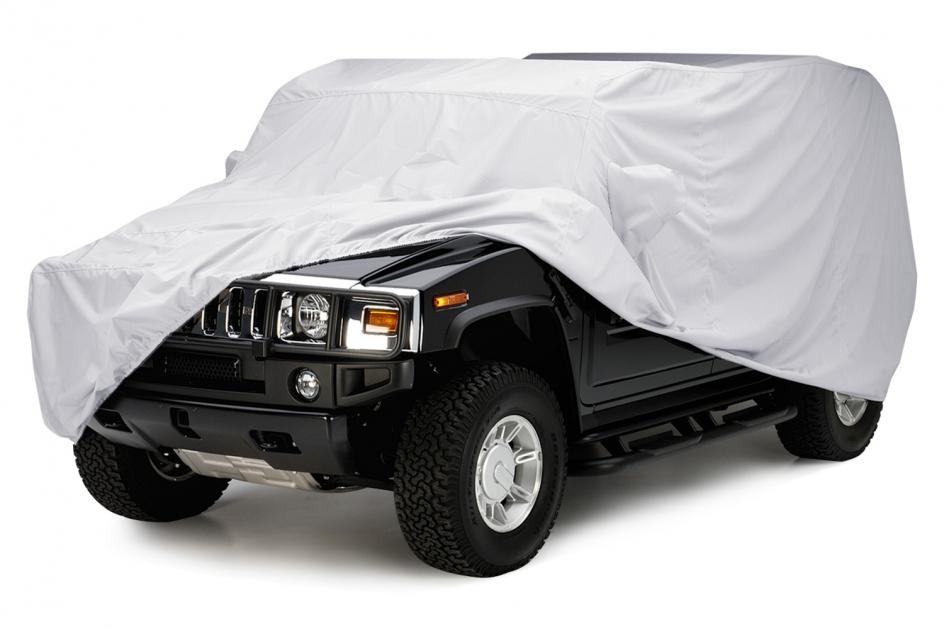Fleeced Satin™ SUV Cover