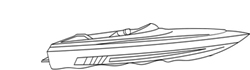 "Powerboat Covers (Up to 15.5' Long and 80"" Wide)"