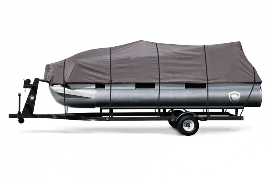 ShoreFit™ Gold 600 Pontoon Cover