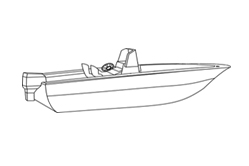 Center Console Without Bow Rails