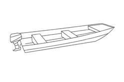 Flat Nose Jon Boat