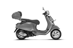 Scooter With Rear Box
