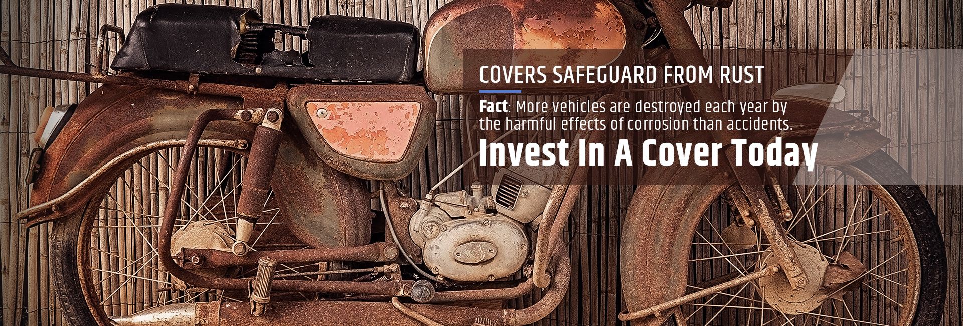 Covers safeguard from rust